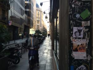Barcelona Straße