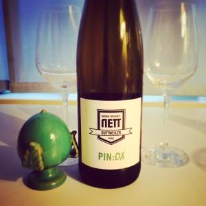 "Pin:ox - Cuvèe aus dem Hause ""Nett"""