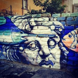 Graffiti in Trastevere