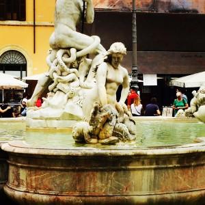 Neptunbrunnen der Piazza Navona
