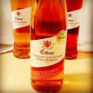 Erben Cabernet Sauvignon Rosé Réserve