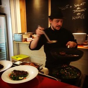 notre chef de cuisine - Fred