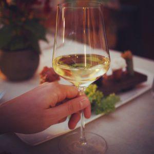 Weinprobe mit hervorragendem Menü