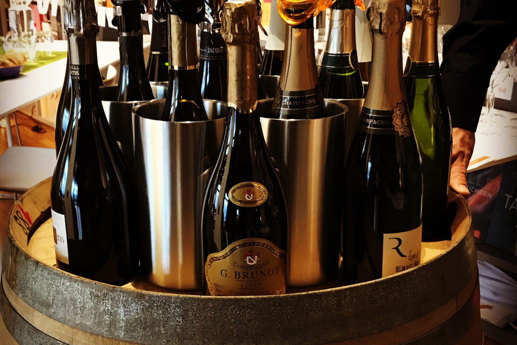 Kleine, feine Champagner-Auswahl